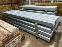 DIFFERENT SIZED GALVANISED BOX PROFILE ROOF SHEETS - NEW