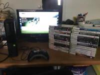 Xbox 360 250gb Console & 30 Games