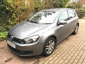 2009 VW Golf 2.0 TDI SE 140 bhp fsh low mileage