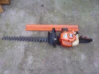 Echo professional heavy duty petrol hedge cutters cost £400+