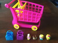 Shopkins and Trolley
