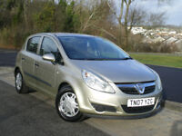 Vauxhall Corsa 1.2 i 16V Life 5dr Hatchback * Full SERVICE HISTORY * 3 Months WARRANTY