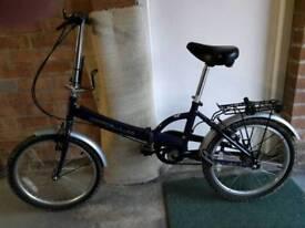 Folding bike / Halfords Apollo