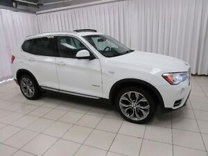 2015 BMW X3 28i x-DRIVE SUV w/ PREMIUM ENHANCED PACKAGE, NAVIG