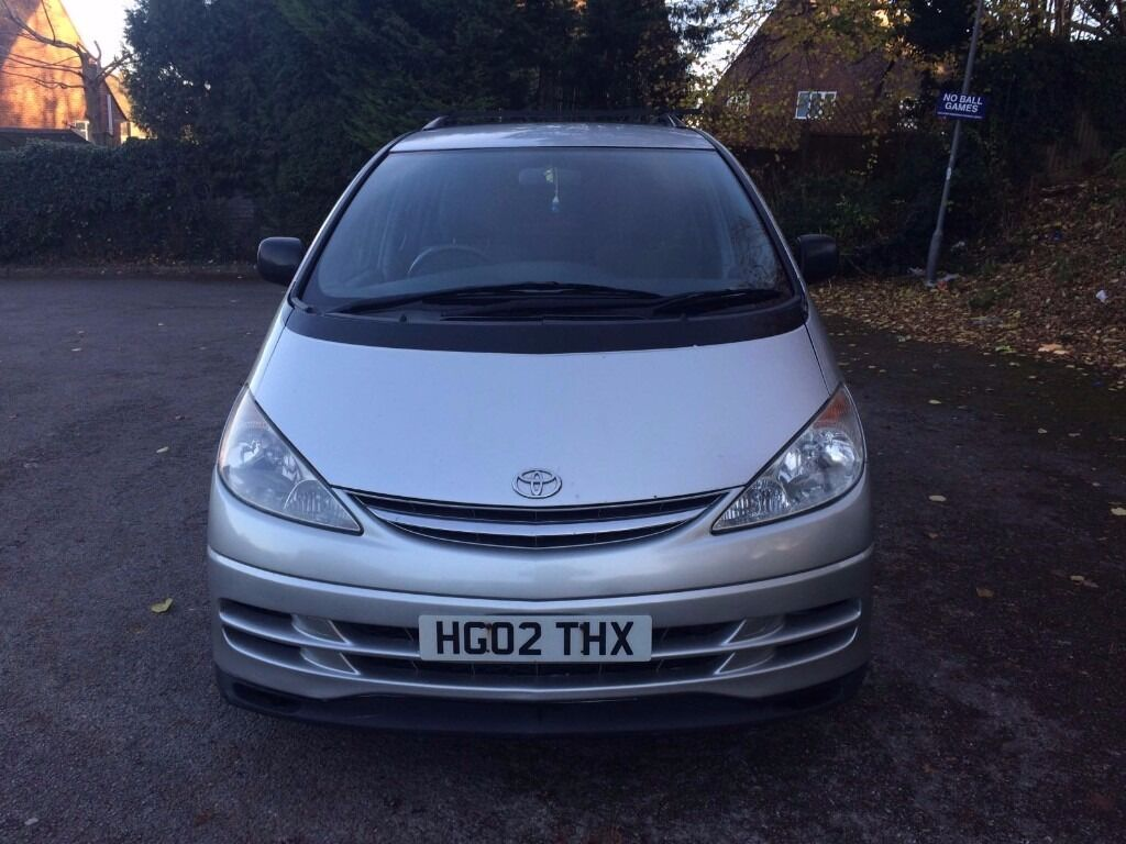 8 SeatsToyota previa Automatic Lpg Silver in Excellent Drive very economical 1 year mot