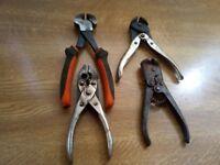 wire cutters x 4