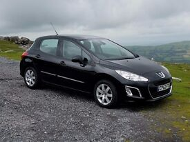 2013 62 Peugeot 308 Diesel Active 1.6HDi, One Local Owner, Service History, Warranty, Excellent...