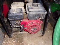Petrol Honda GX120 2 inch water pump with hoses