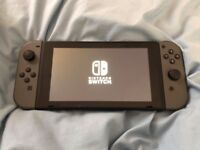 NINTENDO SWITCH GREY CARRY CASE 3 GAMES