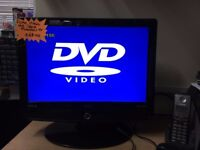 UMC / TECKNIC 19 INCH LCD TV With DVD and new Remote
