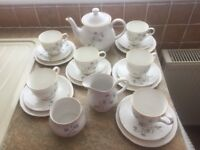 Sadler bone china tea set