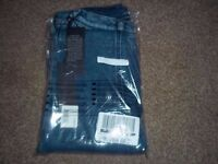 """BNWTIOP Boys """"Replay"""" Jersey Stretch Jeans Mid-Blue Size 8years(on label)"""