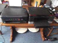 2 Printers, Epson XP235 & Kodak Hero 5.1 Spares or repair