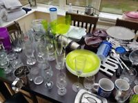 KITCHENWARE FOR SALE - TAKE THE WHOLE LOT FOR 80-100 POUNDS