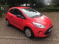 Ford KA 1.2 Studio (Start / Stop) 2012 in Bright Red