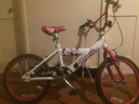 Girls bike 7years