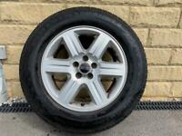 Land Rover Freelander 2 17 Inch Alloy Wheel - With 5mm+ Uniroyal RainExpert Tyre
