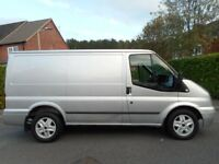 FINANCE ME!! NO VAT!! Ford Transit 260 FWD 2.2 Tdci 125 Swb Limited with freezing cold air con!!