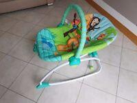 Bright Starts Peek-a-Zoo Rocker (Baby/Bouncer/Vibrating/Seat/Rocking)