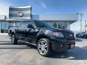 2007 Ford F-150 HARLEY DAVIDSON 4WD 100Km On NEW MOTOR
