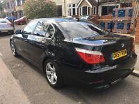 BMW 5 Series 2007 520D SE 4dr Black