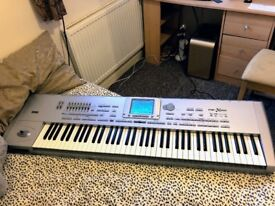 Korg Pa1X Pro professional arranger in very good working condition, with music rest and power cable