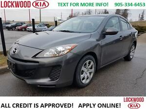 2013 Mazda MAZDA3 GX - AUTO, KEYLESS ENTRY, POWER WINDOWS