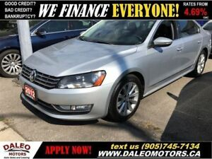 2012 Volkswagen Passat 2.5L Highline (A6) With NAV | SUNROOF | L