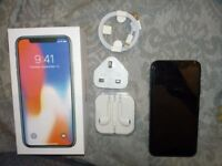 iPhone X    boxed as new    Unlocked