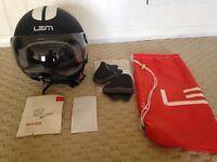 Beautiful Italian LEM Motorcycle Helmet Size M
