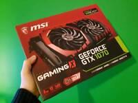 MSI GTX 1070 GAMING X GPU May PX HTC VIVE or 1080Ti