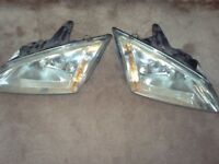 Pair headlamps Ford Focus 2006