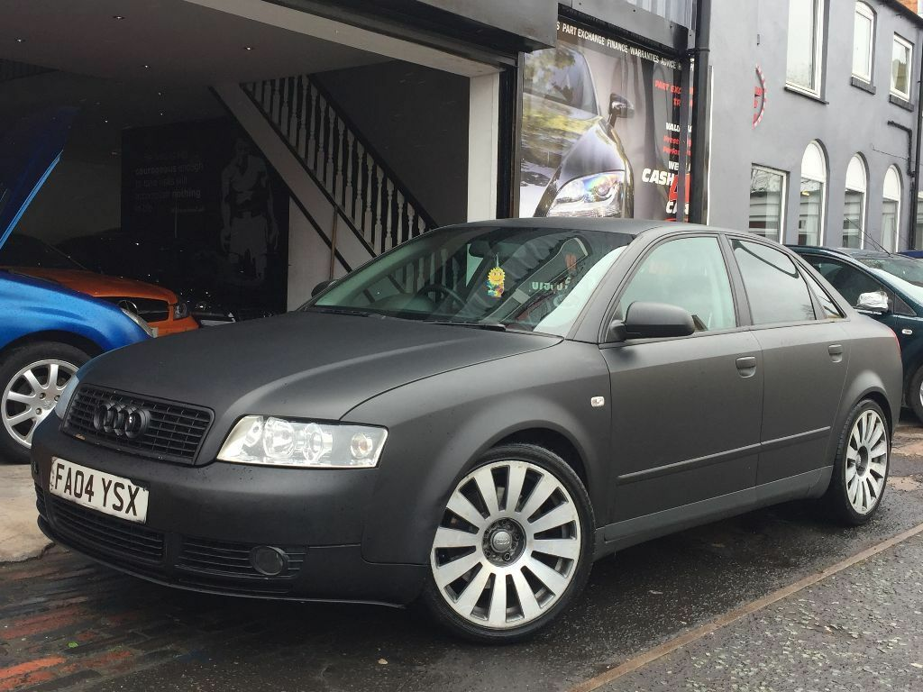 audi a4 1 8 t s line 4dr dolce body kit with matte black