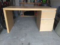 IKEA Malm Desk 140x65cm collect only