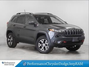 2017 Jeep Cherokee Trailhawk * Navigation * Pano Roof * Leather