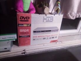 DVD PLAYER NEW IN BOX NEVER BEEN USED £30.00 ONO