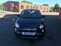 Fiat 500 lounge 1.3 2012 £30 tax per year top condition