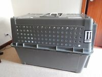 Airline approved travel crate - large