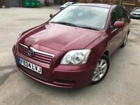 04 plate - toyota Avensis - Automatic petrol - one year mot - 1 former keeper - built in navigation