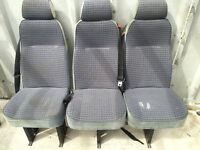 ** MUST LOOK ** Universal Adjustable Toyota Hi-ace Van Seats - Good Condition * CHEAP *
