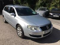 Vw passat 2006 55 plate 2.0 tdi se 140 estate mot alloy wheels