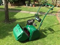 Qualcast Classic Petrol 43S Self Propelled rear roller cylinder lawnmower