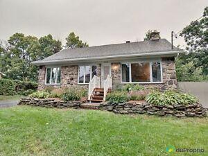 425 000$ - Maison à un étage et demi à vendre à Fabreville