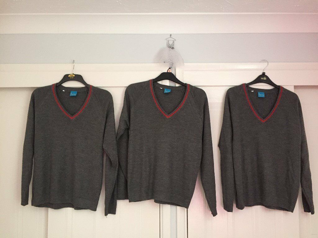 Severn Vale School Jumpers Size 38, x 3
