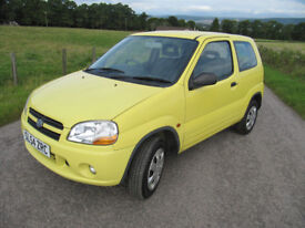 Suzuki Ignis 1.3 Gl 3 Door only 68K LONG MOT VGC ONLY £1,375
