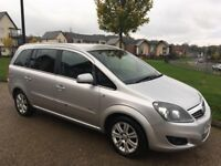 Vauxhall Zafira 1.6 i 16v Breeze 5dr Spacious 7 Seater 12 Months MOT Only 67k Miles