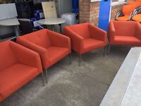 office furniture quality reception seating