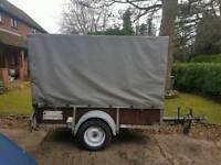 Box trailer with Canopy