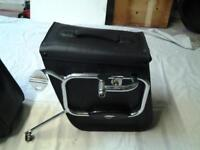 kawasaki w leather panniers