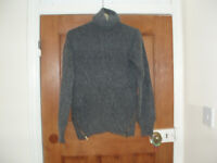 ladies marks and spencer angora mix polo neck jumper